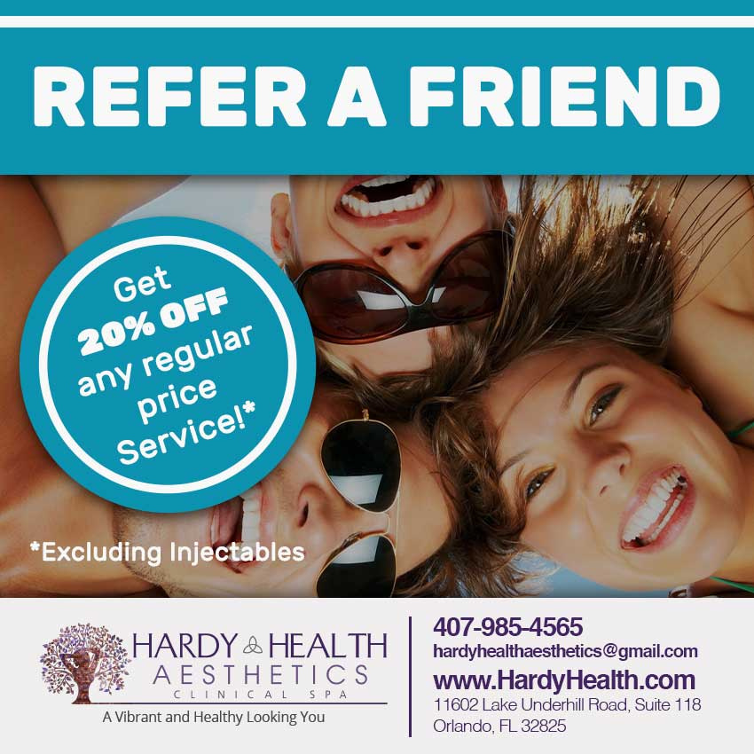 Refer a friend and get 20% Off