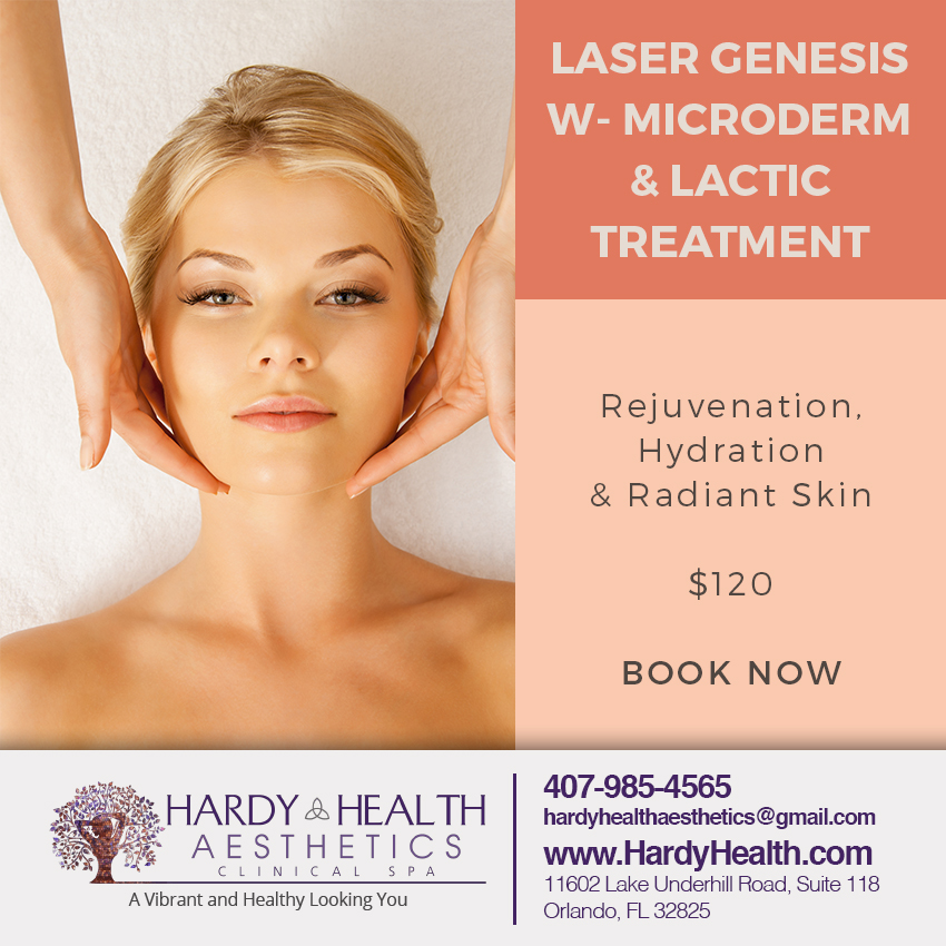 Laser Genesis with Microderm & Lactic Treatment