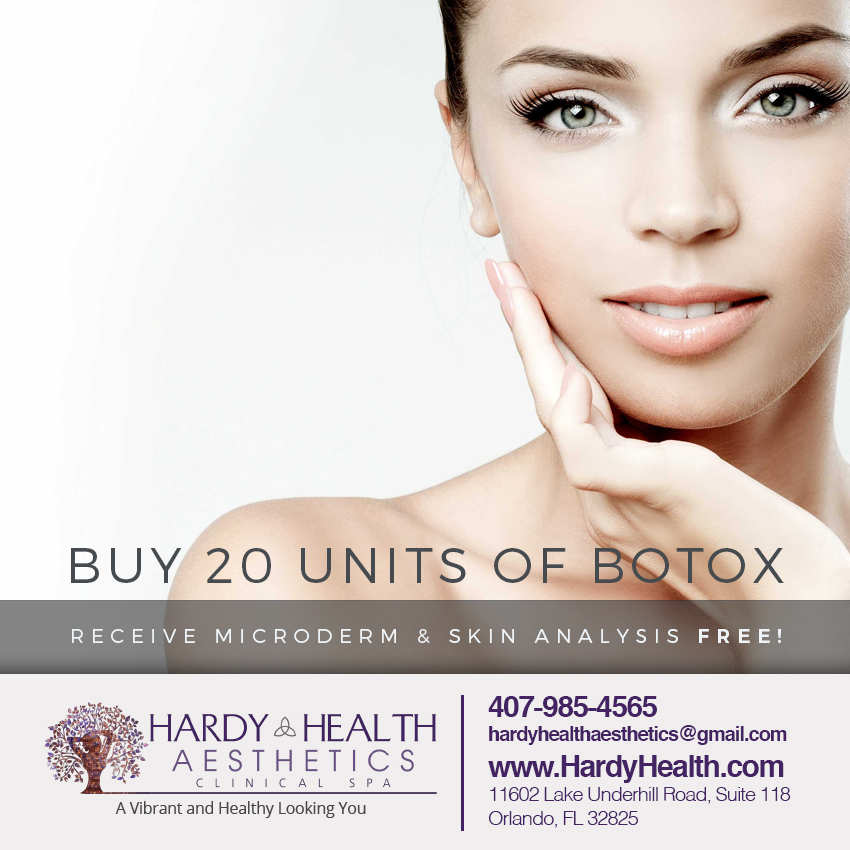 FREE Microderm & Skin Analysis When You Buy 20 Units of Botox